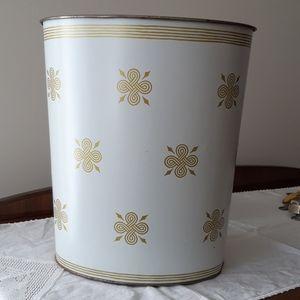 Vintage Decoware Trash Bin